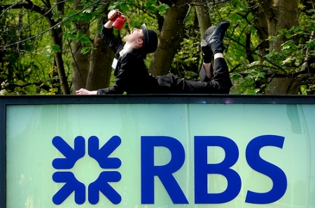 Oily bankers RBS AGM 2011