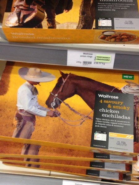 Is Waitrose trying to tell us something?