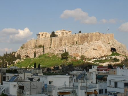 The Acropolis: breakfast with a view