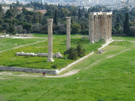 Temple of Zeus: breakfast with a view
