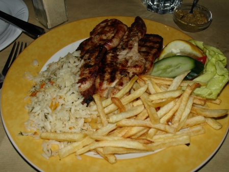 dining out in Plaka