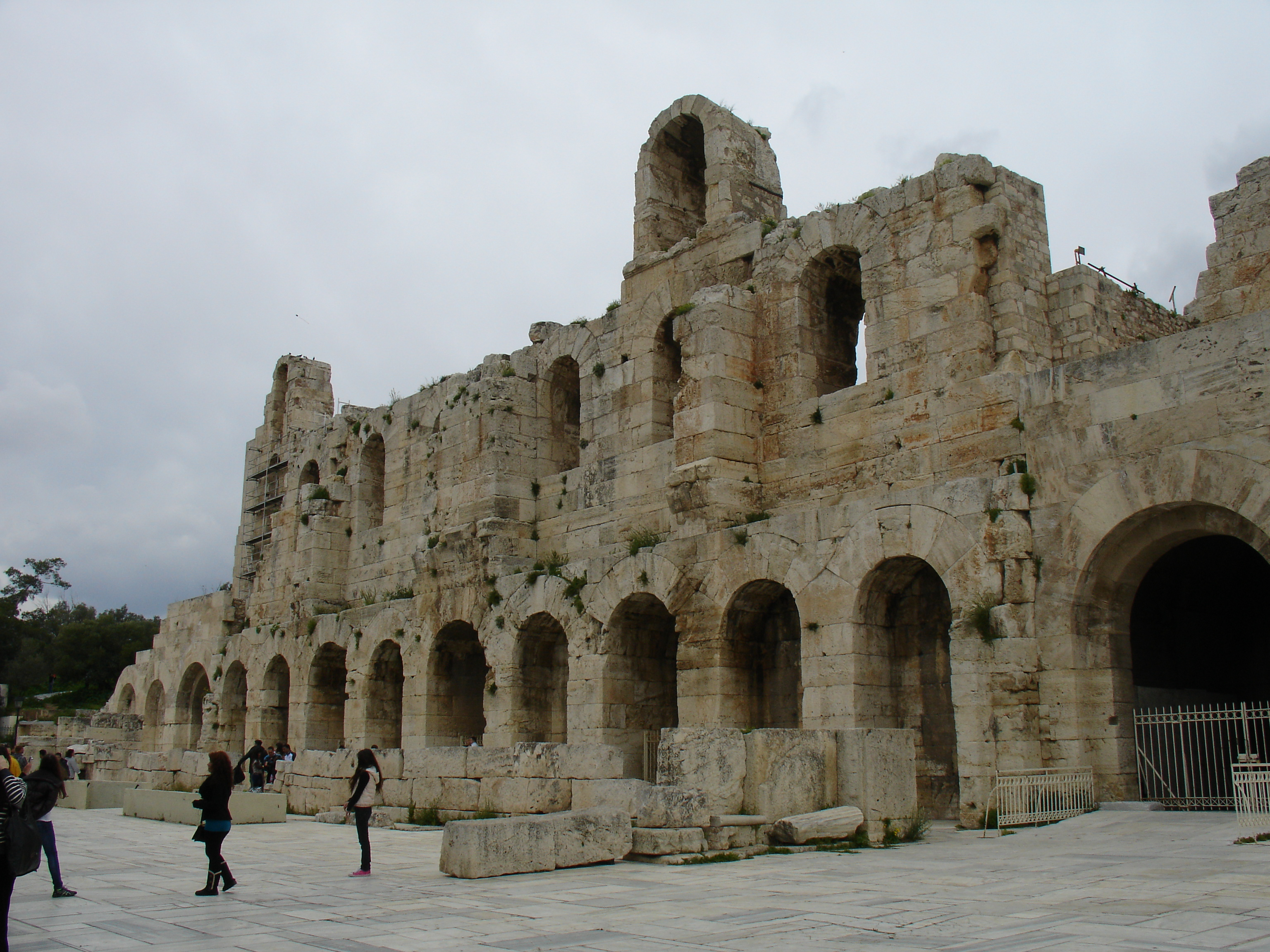 Odeon of Herodes Atticus  Keithpps Blog