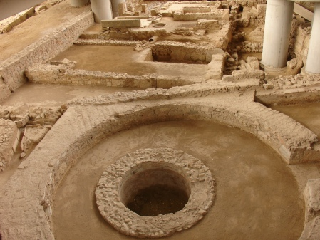Old Athens beneath museum