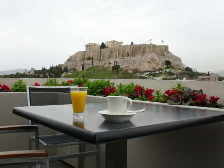 Athens: Breakfast with a  view
