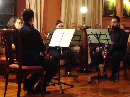 Cuarteto Arghul en concierto en Abaco