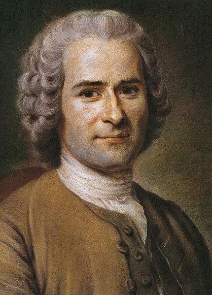 Jean-Jacques Rousseau by  by Maurice Quentin de La Tour (1753)