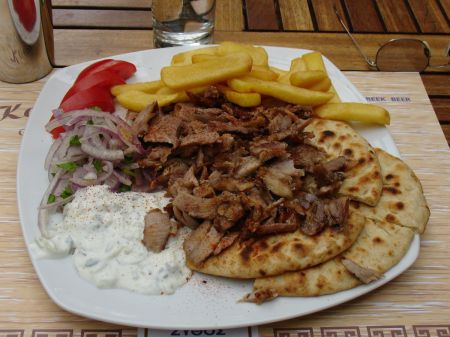 lunch in plaka