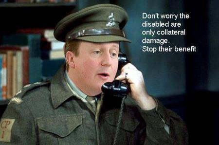 David Cameron: take away their disability benefits