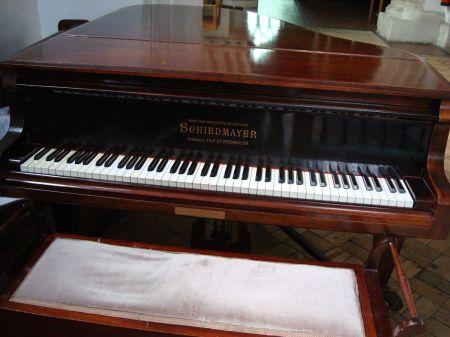 Godalming Parish Church Schiedmayer piano