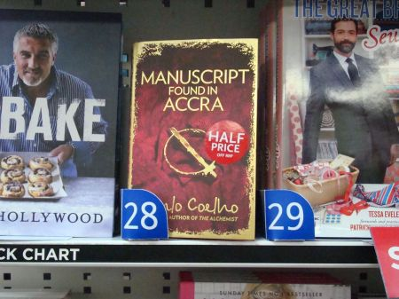 Manuscript Found in Accra No 28 in WHSmith