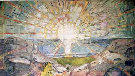 The Sun - Edvard Munch