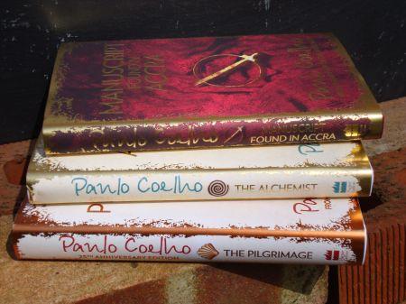 Paulo Coelho three books