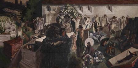 The Resurrection, Cookham (1924-1927) - Sir Stanley Spencer (1891-1959)
