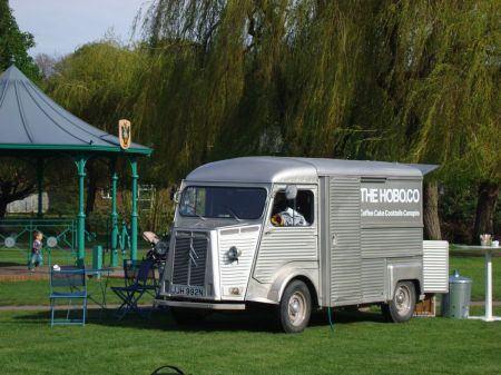 The Hobo Co in Gostrey Meadow in Farnham