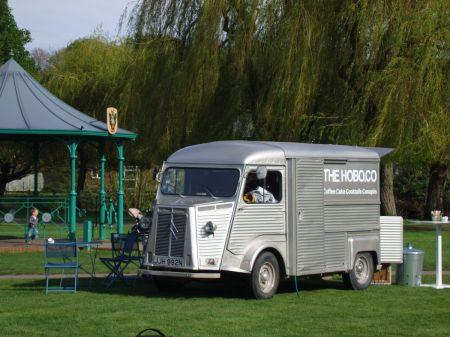 The Hobo Co in Gostrey Meadow in Farnham