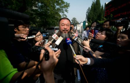 Chinese activist Ai Weiwei