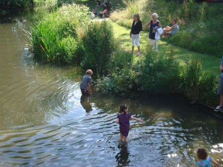 cooling off in the River Wey