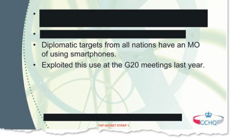 One of the GCHQ documents