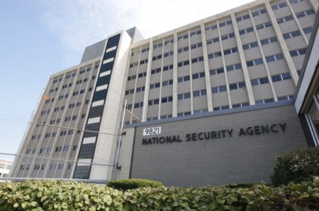 National Security Agency building at Fort Meade