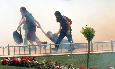 Taksim Gezi Park protest in Istanbul