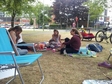 Occupy Firgrove picnic