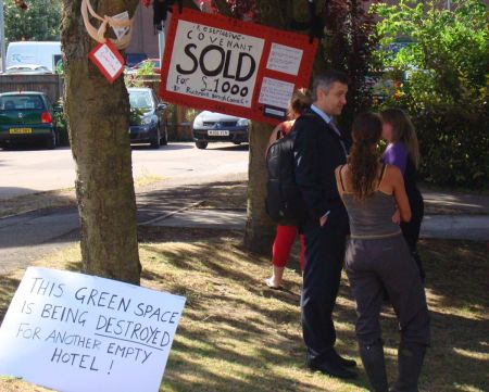 This Green Space is Being Destroyed for Another Empty Hotel!