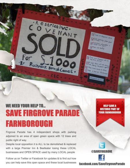 Save Firgrove Parade