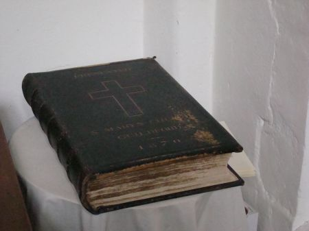 St Mary's old Bible