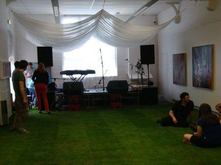 Westival indoor lawn