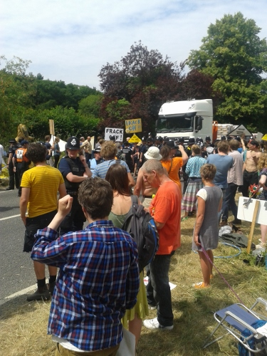 Balcombe frackoff protest