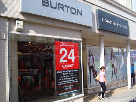 Burton and Dorothy Perkins pull out of Aldershot