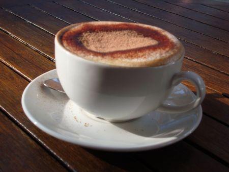 Caffe Macchiato cappuccino