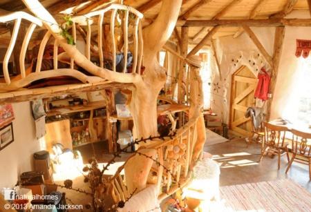 inside Charlie's house