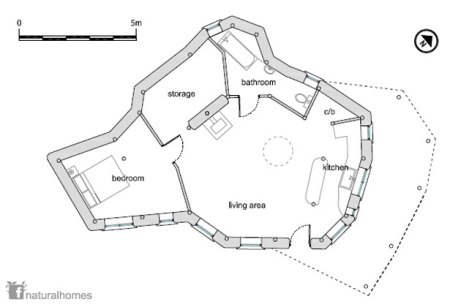 plan of Charlie's house