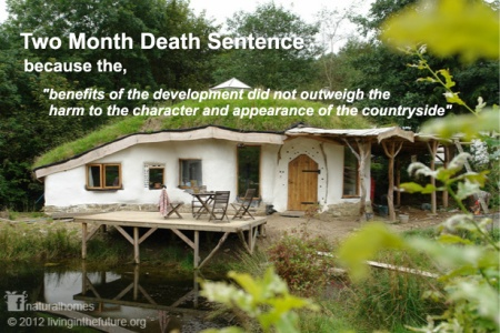 "Charlie's house: Two month death sentence because the, ""benefits of the development did not outweigh the harm to the character and appearance of the countryside"""