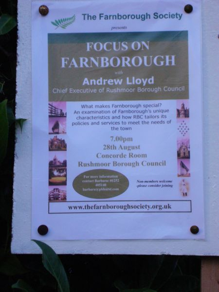 Farnborough talk by  Andrew Lloyd