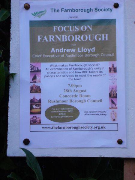 Farnborough talk by  Andrew Lloyd
