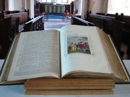 old Bible Godalming Parish Church