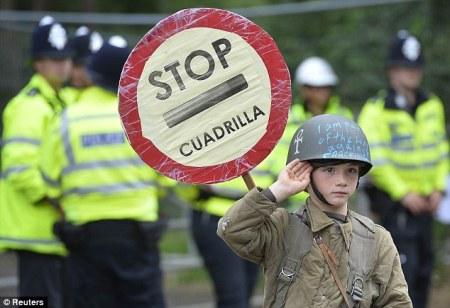 STOP Cuadrilla