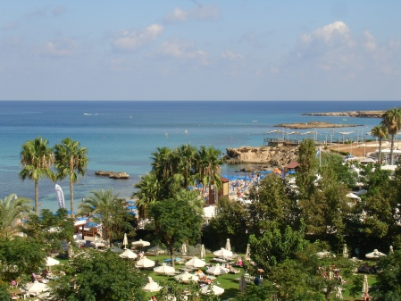 looking out to Fig Tree Bay