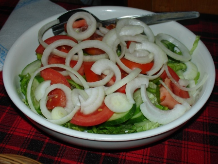Greek side salad