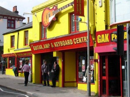 Brighton guitar shop