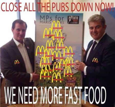 Close all Pubs!