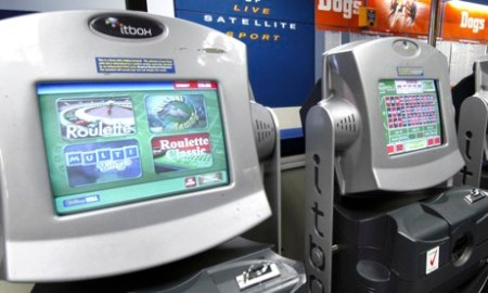 Fixed-odds betting terminals at a bookmaker: the machines have been called the crack cocaine of gambling