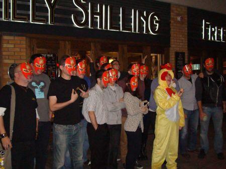 Tilly Shilling masked parade