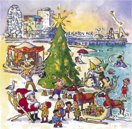 Christmas Card Brighton