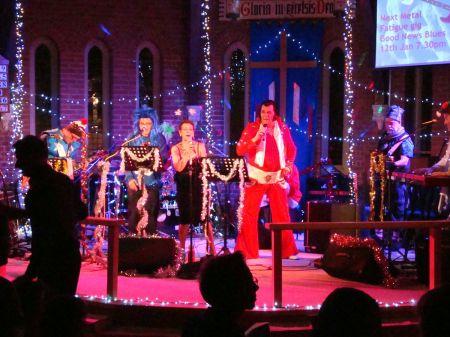 rock n roll Christmas Metal Fatigue with Elvis
