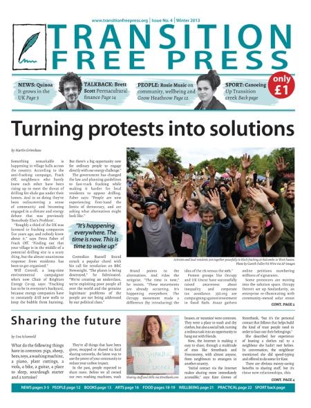 Transition Free Press - Winter 2013