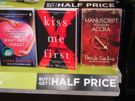 Manuscript Found in Accra WHSmith buy one get one half price