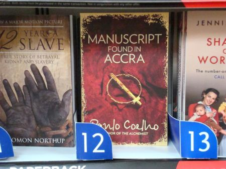Manuscript Found in Accra WHSmith No 12